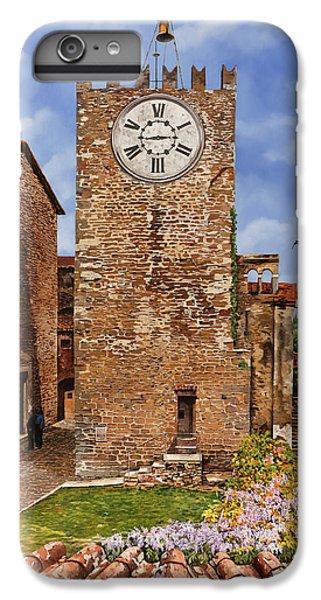 Swallow iPhone 7 Plus Case - La Torre Del Carmine-montecatini Terme-tuscany by Guido Borelli