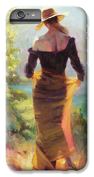 Impressionism iPhone 7 Plus Case - Lady Of The Lake by Steve Henderson