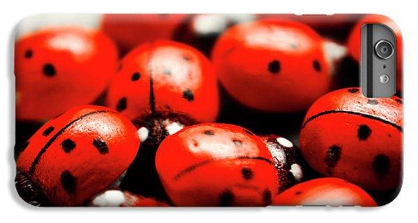 Ladybug iPhone 7 Plus Case - Ladybug Luck by Jorgo Photography - Wall Art Gallery