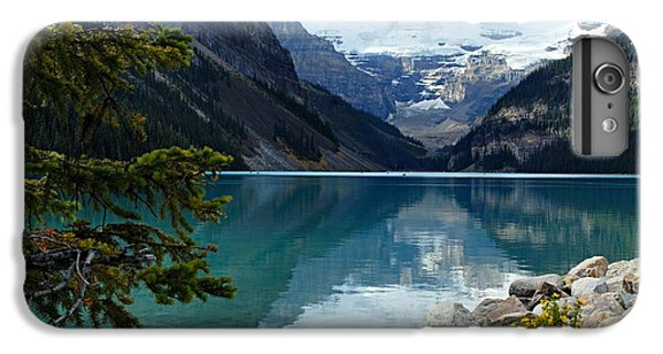 Mountain iPhone 7 Plus Case - Lake Louise 2 by Larry Ricker