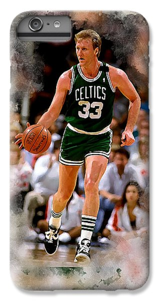 Larry Bird iPhone 7 Plus Case - Larry Bird by Karl Knox Images