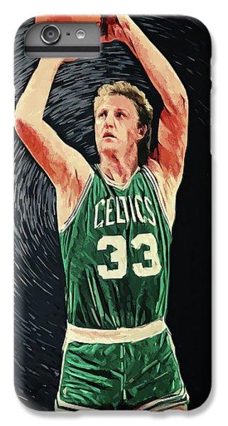 Larry Bird iPhone 7 Plus Case - Larry Bird by Taylan Apukovska