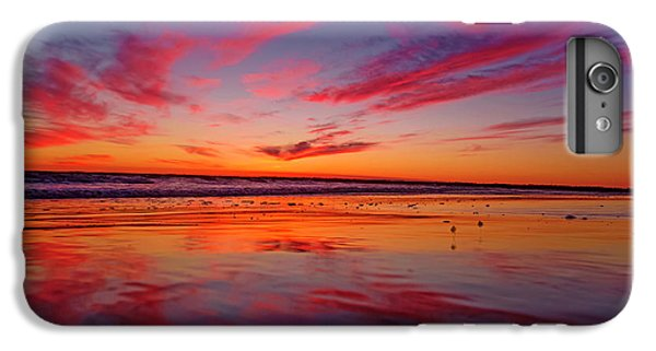 Sandpiper iPhone 7 Plus Case - Last Light Topsail Beach by Betsy Knapp