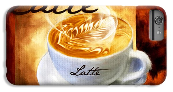 Latte IPhone 7 Plus Case by Lourry Legarde