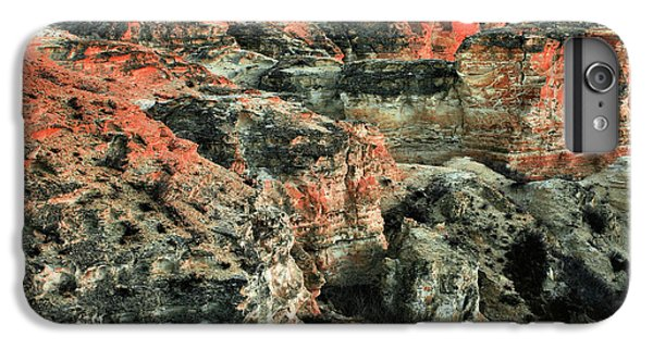 IPhone 7 Plus Case featuring the photograph Layers In The Kansas Badlands by Kyle Findley
