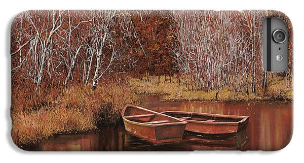 Boats iPhone 7 Plus Case - Le Barche Sullo Stagno by Guido Borelli