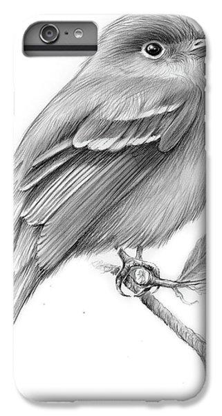 Flycatcher iPhone 7 Plus Case - Least Flycatcher by Greg Joens