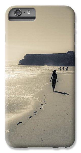 Leave Nothing But Footprints IPhone 7 Plus Case by Alex Lapidus
