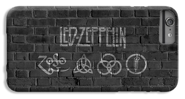 Led Zeppelin Brick Wall IPhone 7 Plus Case by Dan Sproul