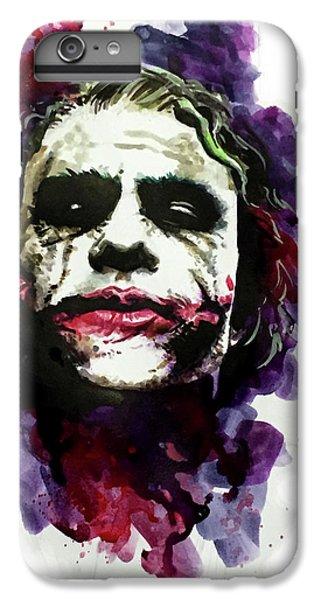 Heath Ledger iPhone 7 Plus Case - Ledgerjoker by Ken Meyer