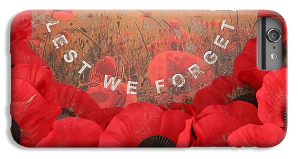 Lest We Forget - 1914-1918 IPhone 7 Plus Case by Travel Pics
