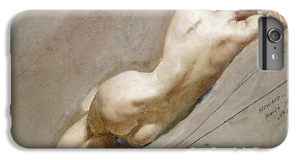 Nudes iPhone 7 Plus Case - Life Study Of The Female Figure by William Edward Frost
