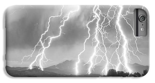 Lightning Striking Longs Peak Foothills 4cbw IPhone 7 Plus Case by James BO  Insogna