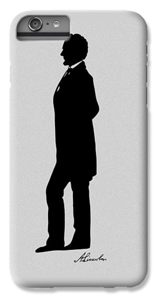 Lincoln Silhouette And Signature IPhone 7 Plus Case by War Is Hell Store