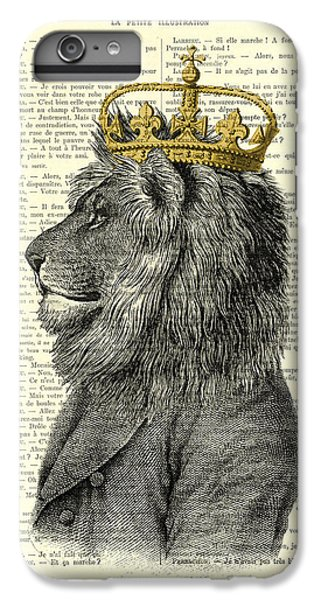 England iPhone 7 Plus Case - Lion King by Madame Memento