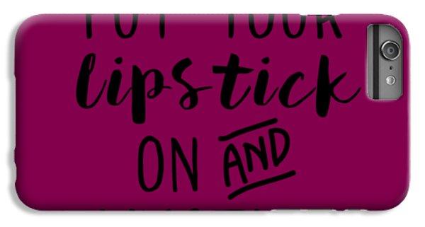 Lipstick  IPhone 7 Plus Case by Elizabeth Taylor