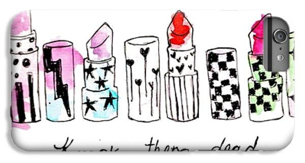 Lipstick Galore IPhone 7 Plus Case by Elizabeth Taylor