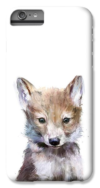 Wolves iPhone 7 Plus Case - Little Wolf by Amy Hamilton