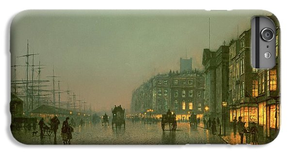 Liverpool Docks From Wapping IPhone 7 Plus Case by John Atkinson Grimshaw