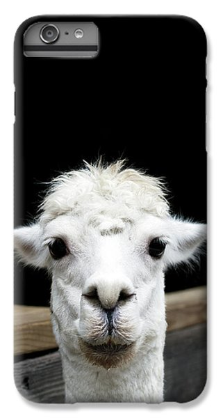 Llama IPhone 7 Plus Case by Lauren Mancke