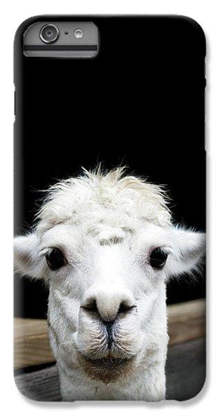 Llama IPhone 7 Plus Case by Lauren Mancke