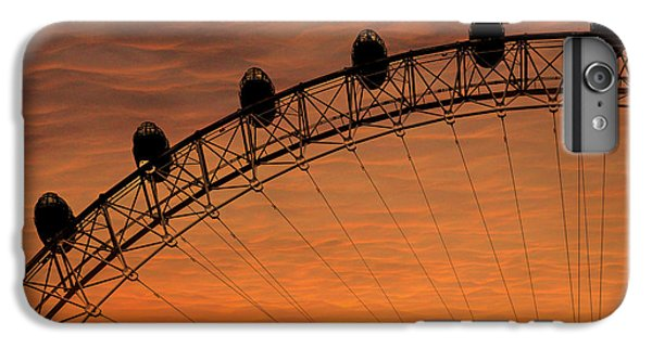 London Eye Sunset IPhone 7 Plus Case by Martin Newman