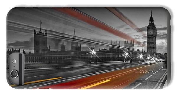 London iPhone 7 Plus Case - London Red Bus by Melanie Viola