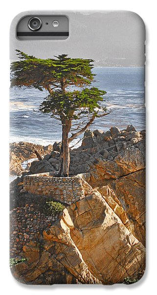 Landscapes iPhone 7 Plus Case - Lone Cypress - The Icon Of Pebble Beach California by Christine Till