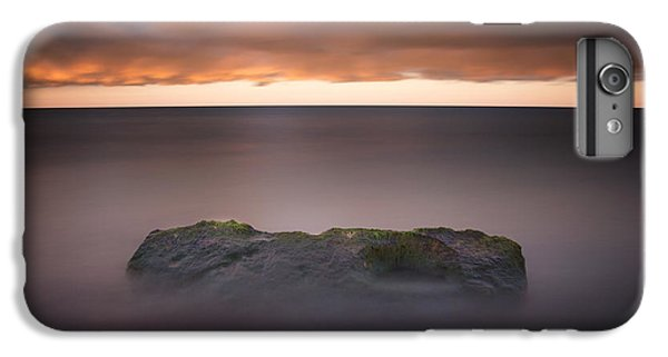 IPhone 7 Plus Case featuring the photograph Lone Stone At Sunrise by Adam Romanowicz