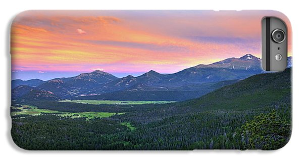 Longs Peak Sunset IPhone 7 Plus Case by David Chandler