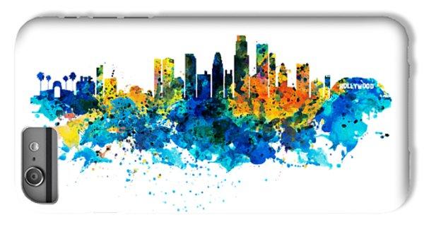 Los Angeles Skyline IPhone 7 Plus Case by Marian Voicu