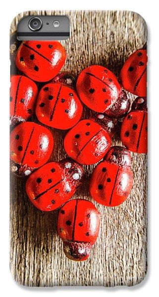 Ladybug iPhone 7 Plus Case - Love Bug by Jorgo Photography - Wall Art Gallery