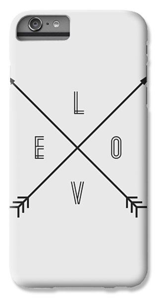 Love Compass IPhone 7 Plus Case by Taylan Apukovska