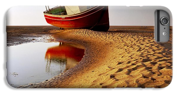 England iPhone 7 Plus Case - Low Tide by Peter OReilly