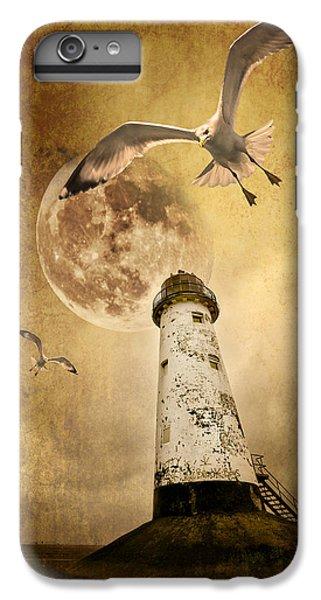 Seagull iPhone 7 Plus Case - Lunar Flight by Meirion Matthias