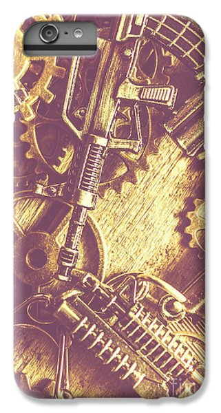 Warfare iPhone 7 Plus Case - Machine Guns by Jorgo Photography - Wall Art Gallery