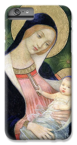 Blackbird iPhone 7 Plus Case - Madonna Of The Fir Tree by Marianne Stokes