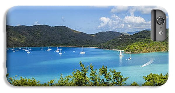 IPhone 7 Plus Case featuring the photograph Maho And Francis Bays On St. John, Usvi by Adam Romanowicz