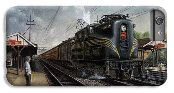 Train iPhone 7 Plus Case - Mainline Memories by David Mittner