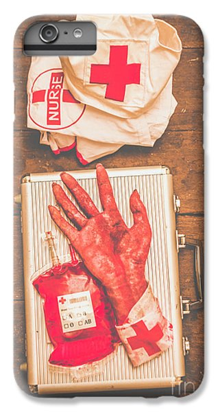 Donation iPhone 7 Plus Case - Make Your Own Frankenstein Medical Kit  by Jorgo Photography - Wall Art Gallery