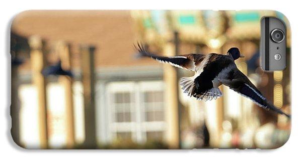 Mallard Duck And Carousel IPhone 7 Plus Case by Geraldine Scull