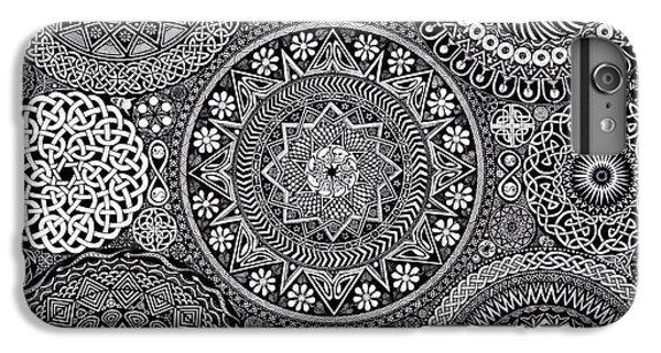 Mandala Bouquet IPhone 7 Plus Case by Matthew Ridgway