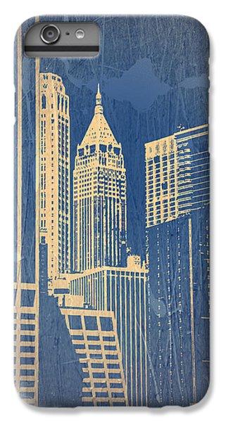 Chrysler Building iPhone 7 Plus Case - Manhattan 1 by Naxart Studio
