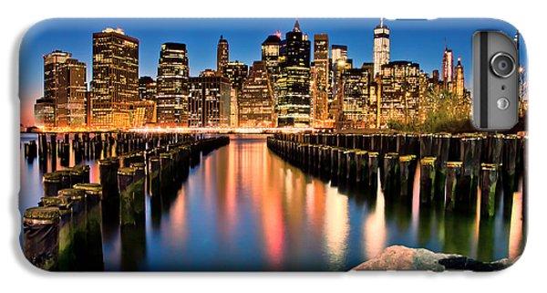 Manhattan Skyline At Dusk IPhone 7 Plus Case by Az Jackson