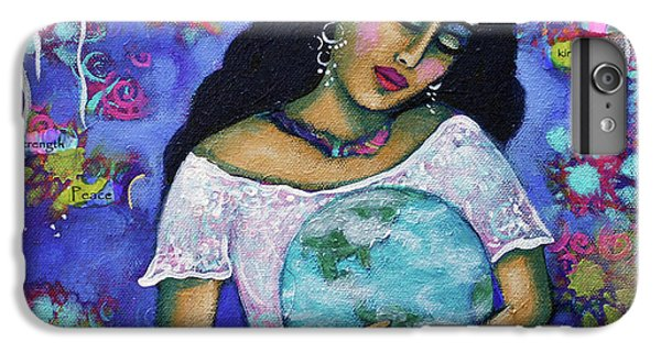Planets iPhone 7 Plus Case - Mantras by Carla Golembe
