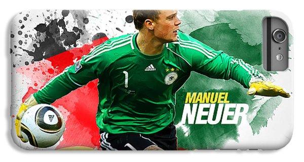 Manuel Neuer IPhone 7 Plus Case by Semih Yurdabak