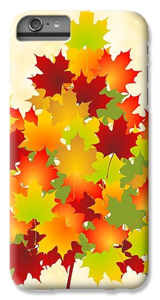 Maple Leaves IPhone 7 Plus Case by Anastasiya Malakhova
