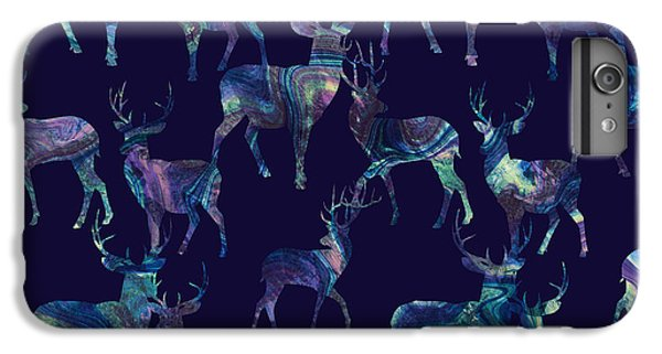 Marble Deer IPhone 7 Plus Case by Varpu Kronholm