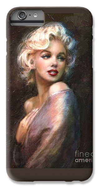 Portraits iPhone 7 Plus Case - Marilyn Romantic Ww 1 by Theo Danella