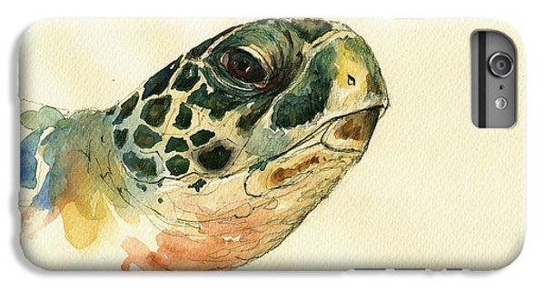 Marine Turtle IPhone 7 Plus Case by Juan  Bosco